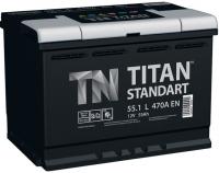 Аккумулятор TITAN Standart 55 А/ч прямая полярность