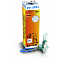 Галогенная лампа PHILIPS Premium Н3 12V 55W +30% 1шт, 12336PR