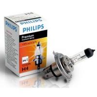 Галогенная лампа PHILIPS Premium +30% H4 12V 60/55W 1шт, 12342PRC1