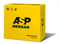 Диск тормозной передний Mensan 270207 1шт (Largus, Logan, Sandero не вентилируемый, АБС- 7701208252)
