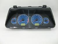 Комбинация приборов ВАЗ 2110 Автоприбор 345.3801010-03 Люкс (Лада 2110-2112, 2115, 2123 панель приборов синяя шкала, тюнинг 2110-3801010)