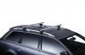 Комплект упоров на высокие рейлинги багажной системы THULE 757 (опоры с замками, для стандартных рейлингов, туле)
