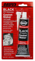 Герметик прокладок Black стандартный ABRO 12-AB 85гр черный