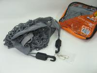 Сетка карман Airline AS-S-01 30x70 см (сетка крепления груза, 2 пластиковых крючка + 2 крючка самореза)