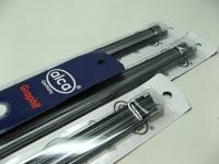 """Резинка щетки стеклоочистителя ALCA 117000 500мм комплект 2шт (ленты дворников, """"шип"""" профиль Bosch)"""