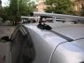 Универсальный багажник для иномарок Amos C-15 аэродиамические поперечины 1.3м на крышу в штатные места (Амос с15)