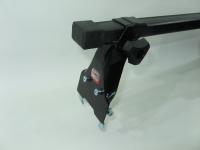 Универсальный багажник для иномарок Amos Polo прямоугольные поперечины 1.3м на крышу в штатные места (Амос поло)