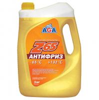 Антифриз AGA Z-65 5кг готовый, желтый AGA043Z