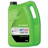 Антифриз Luxe Long Life G11 5л готовый, зеленый