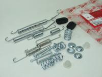 Монтажный комплект задних тормозных механизмов Asam-SA 32066 (Logan, Sandero ремонтный набор колодок, барабанов 203мм LucasTRW, аналог 7701208856)