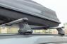 Багажник на крышу Атлант Lada Vesta Cross с интегрированными рейлингами аэродинамические поперечины (1.1м) 7228+8827+7002 (Лада Веста, опора тип E atlant)