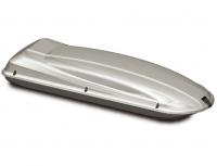 Бокс багажный Атлант Dynamic 504 серебристый глянец 2250х780х380 двустороннее открывание (пенал на крышу автомобиля, 8555)