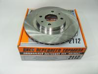 Диск тормозной передний ВАЗ 2112 Alnas 2112-3501070-01 комплект 2шт (Лада 2110-2112, 2170 диски переднего тормоза вентилируемые R14)