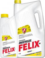 Антифриз Professional Antifreeze FELIX Energy G12 5л готовый, желтый