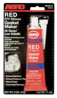 Герметик прокладок высокотемпературный Red ABRO 11-AB 85гр красный
