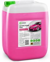 """Активная пена Grass """"Active Foam Pink"""" цветная пена 6кг"""