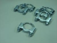 Хомут глушителя Bosal 250945 (ВАЗ 2101-2107, 2121-21213, Нива стремянка 45мм, аналог 2101-1203047-01)