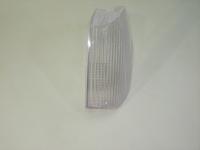 Стекло поворотника фары белое левое ЗАЗ 1103 Мелитополь 351.3.04.204-W ( ZAZ Славута рассеиватель поворотника, аналог)