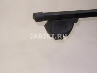 Багажник на крышу на рейлинги Inter Integra прямоугольные поперечины 1.2м (на низкий, интегрированный рейлинг, Интер интегра)