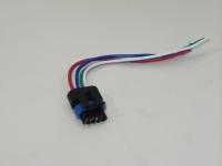 Разъем регулятора холостого хода ZAZ Sens Cargen SQ-516 (ЗАЗ Сенс, колодка датчика)