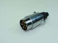 Разъем соединительный прицепного устройства TPL-0003 12V 7-контактов (вилка силуминовая фаркопа, тсу)