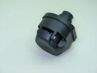 Разъем соединительный прицепного устройства 12V 7-контактов (розетка пластиковая фаркопа, тсу)