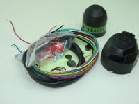 Комплект проводки для подключения прицепного устройства Leader Plus KPL-012 (универсальный, для фаркопа, лидер плюс)