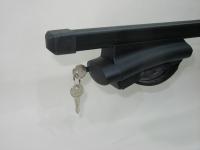 Багажник на крышу Inter Belt прямоугольные поперечины 1.3м (на высокие рейлинги нестандартного профиля, интер белт)