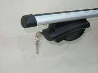 Багажник на крышу Inter Belt аэродинамические поперечины 1.2м (на высокие рейлинги нестандартного профиля, интер белт)