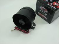 """Автомобильная сирена Alfa ADX6004 (12V 20W, 1-тональная, неавтономная, """"колокол"""")"""