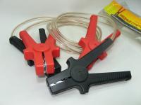 Провода прикуривания 300А Россия 2м силиконовая изоляция (стартовые кабели, пусковые)