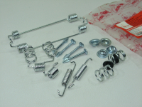 Монтажный комплект задних тормозных механизмов Asam-SA 01341 (Logan, Sandero ремонтный набор колодок, барабанов 180мм, аналог 7701205756)