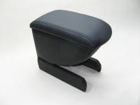 Подлокотник Line Vision для Volkswagen Polo 10- Люкс черный (Фольксваген Поло седан, лайн вижн 53008ILB)