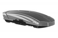Бокс на крышу грузовой THULE Motion XT L 700 серебристый глянцевый 450л 196x89x44 (автобокс автомобильный, двустороннее открытие, 629700)