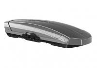 Бокс на крышу грузовой THULE Motion XT XXL 600 серебристый глянцевый 610л 232х95х47 (автобокс автомобильный, двустороннее открытие, 629900)