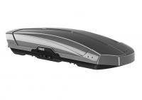 Бокс на крышу грузовой THULE Motion XT XL 500 серебристый глянцевый 400л 215х92х44 (автобокс автомобильный, двустороннее открытие, 629800)