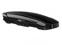 Бокс на крышу грузовой THULE Motion XT M 200 черный глянцевый 400л 175х87х46 (автобокс автомобильный, двустороннее открытие, 629201)
