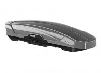 Бокс на крышу грузовой THULE Motion XT Sport 300 серебристый глянцевый 300л 189х68х43 (автобокс автомобильный, двустороннее открытие, 629600)