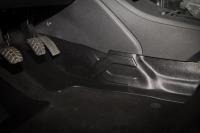 Накладка на ковролин центральный тоннель пола Lada Vesta 1шт АртФорм (Лада Веста, яго)