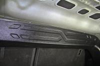 Накладка на перегородку в багажнике Lada Vesta 1шт АртФорм (Лада Веста, яго)