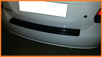 Накладка на задний бампер Volkswagen Polo 2009-2015 седан АртФорм (Фольксваген Поло яго)