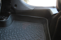 Накладка на ковролин пола задние Renault Duster 2011- АртФорм комплект 2 шт (Рено Дастер, яго)