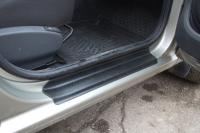 Накладки в проем дверей  Lada Largus 2012- АртФорм комплект 4шт (облицовки для порогов Лада Ларгус, яго)
