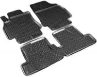 Коврики в салон полиуретан, высокий борт Norplast NPA11-С69-350 комплект 4шт (Renault Logan, Логан 2014-)