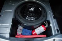 Органайзер нижний в нишу запасного колеса Renault Logan 2014- АртФорм (Рено Логан, яго)
