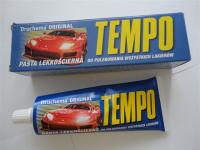 Полироль кузова TEMPO воск для старых покрытий (синий)