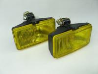 Фара противотуманная желтая прямоугольная ОСВАР 14.3743010 комплект 2шт (дополнительная, без лампы, под лампу H3)