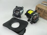 Фара противотуманная белая ВАЗ 1118 Bosch ALRU.676.512.015/016 комплект 2шт (Лада Калина, фары штатные дополнительные с рамками, лампа в комплекте)