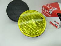 Фара противотуманная желтая круглая ОСВАР 2101.3743-06 1шт (дополнительная, с защитной крышкой, лампа в комплекте)