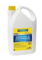 Антифриз RAVENOL TTC Traditional Technology Coolant Premix -40°C 5л готовый, желто-зеленый 4014835755352